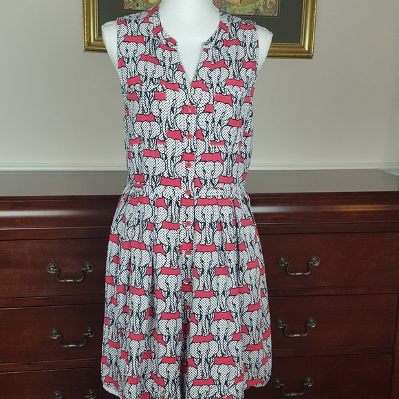 1f11ae95be70 crown & ivy Dresses | Womens Crown Ivy Dress Size 14 Elephant Print ...